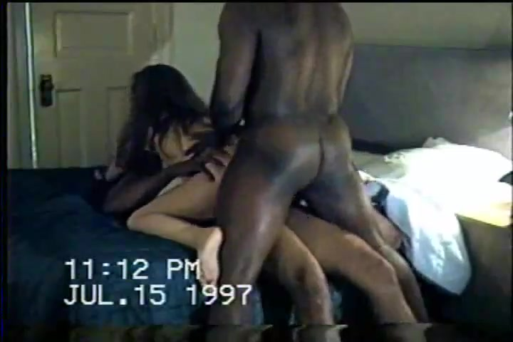 Black dudes fucking wife in front of husband